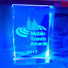 We got the Mobile Trends Award!