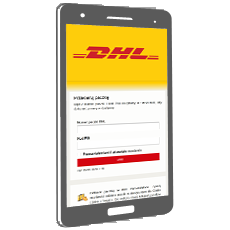 DHL redirect the package