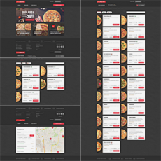 The new Pizza Hut website